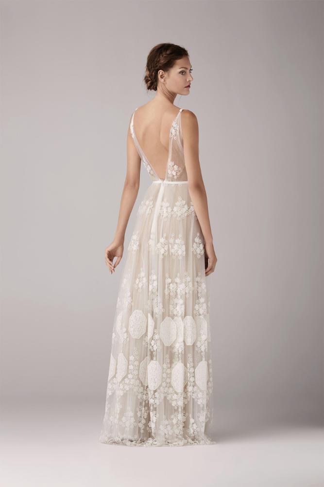 Robe de mariée dentelle Robe de mariée dos nu