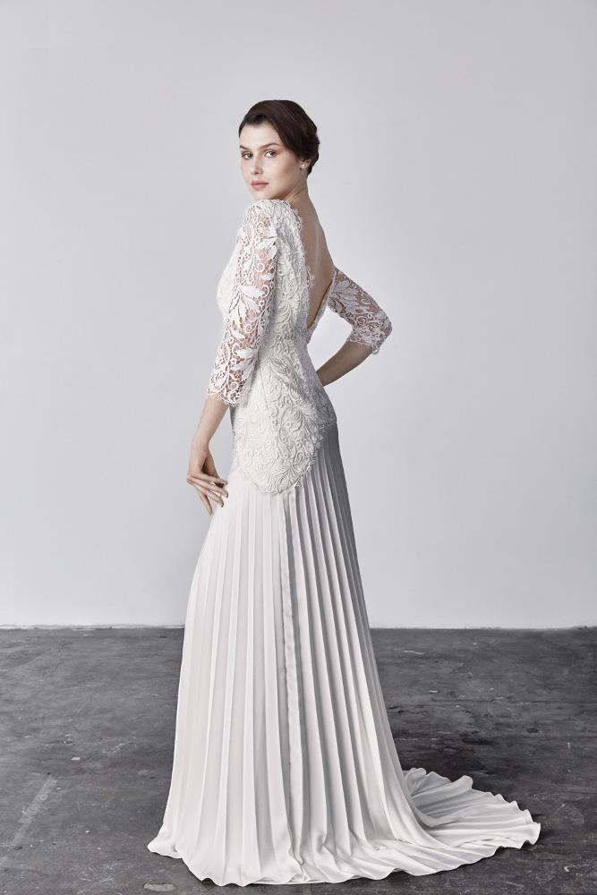 robe de mari e savin london megan chez plume paris