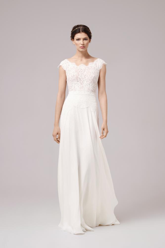 31dab677c71f6 Robe de mariée Anna Kara Amy chez Plume Paris