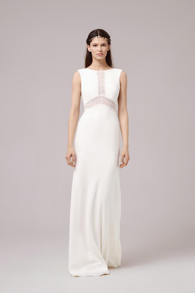 Robe de mariée Anna Kara Marron