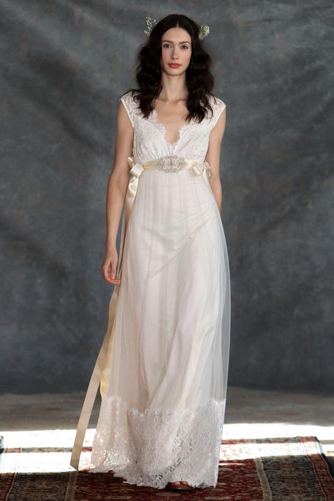 Robe de mariée Claire Pettibone Queen Anne