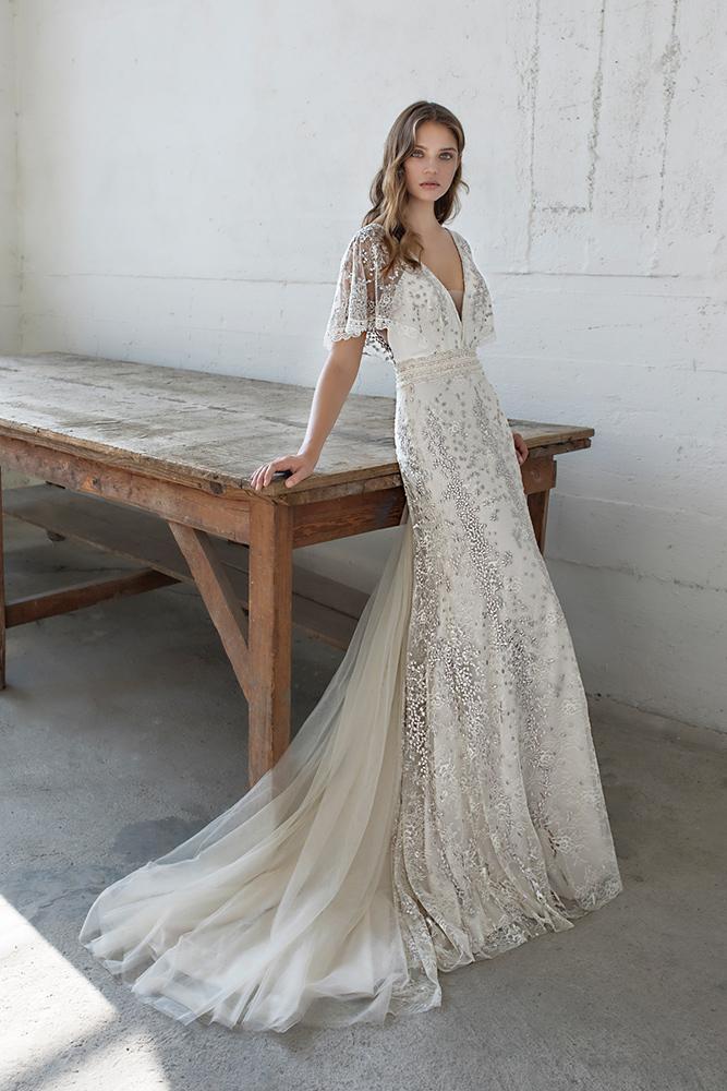 Robe de mariée Modeca Eden chez Plume Paris